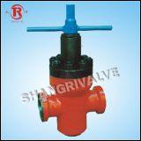 Válvula de porta de alta pressão da braçadeira (ZF83Y)
