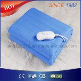 一晩中暖まることのための単一の電気熱くする下毛布