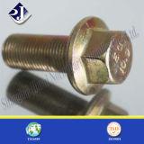 Vis enduite de bride de zinc (DIN6921)