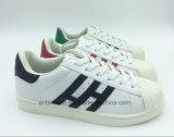 Spiegel PU-obere Form-beiläufige Dame Shoes (ET-XK160226W)