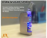 Jomotech dunkler Ritter-Spiritus-Glaswasser-Rohr 2016 für WachsVaporizer
