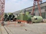 Réservoir chimique de FRP/réservoir horizontal industriel en plastique réservoir de fibre de verre/GRP