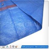 Saco de empacotamento tecido PP azul da venda por atacado 65*105cm