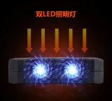 Cargador solar de la batería de la potencia del teléfono móvil de los dientes del lobo