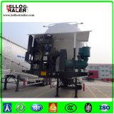 Rimorchio all'ingrosso dell'autocisterna del cemento degli assi 60m3 di alta qualità 3 di fabbricazione della Cina