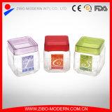 卸し売り安い正方形のガラスキャンデーの記憶の瓶