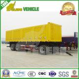 20FT de Afneembare Vrachtwagen die van de Zijwand van de lading de Volledige Aanhangwagen van de Trekbalk slepen