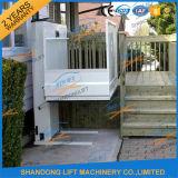별장 엘리베이터 휠체어 승강기 플래트홈 신체 장애자를 위한 휴대용 상승 플래트홈
