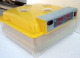 Pièces complètement automatiques approuvées d'incubateur d'oeufs de Digitals de la CE (KP-48)