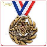 Medalha de lembrança bronzeada bronzeada antiga