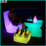 Tabla banquete de la boda LED Tabla Glow Coffee