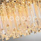 Lampadario a bracci a cristallo di lusso semplice artistico moderno per il salone
