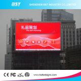 Bst al aire libre a todo color de LED Publicidad de la cartelera para instalar en la pared del edificio