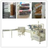 Máquina de embalagem de Trayless dos biscoitos com alimentador