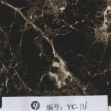 Yingcai 1m Breiten-Rosa-Ader-Gelb-Stein Aquaprint Film