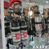 Bombole per gas di Hooped Scba della fibra del carbonio dell'HP