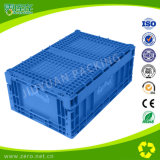 Caixa de armazenamento plástica Foldable elevada de Quallty