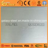 Plat d'acier inoxydable de finition du numéro 1 de SUS316L