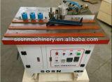 Precintadora de madera de borde del control manual de la fábrica