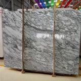 黒のArabescatoの白い大理石は販売のための平板を張りめぐらす