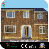 2mx3m 600 LED Christmas White Curtain Fairy String Lights