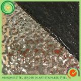Surface de marteau d'estampage de matériaux de construction de feuille d'acier inoxydable de Hermessteel 304 pour l'opération d'ascenseur de métro