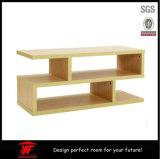 Modernes Holz verwendete Kaffeetisch LED Fernsehapparat-Wand-Geräten-Entwurf Fernsehapparat-Standplatz-Abbildungen