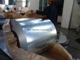 Il lustrino normale d'acciaio galvanizzato tuffato caldo PPGI della bobina Z100 ha galvanizzato la bobina dell'acciaio freddo (SC-002)