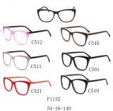 Het In het groot Frame van uitstekende kwaliteit van het Schouwspel van Eyewear van de Acetaat van de Voorraad Optische F1132