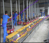 中国の機械を塗るミニチュアオートメーションの壁のレンダリング