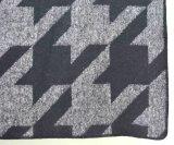 Шарф шерстей 100% с краской пряжи