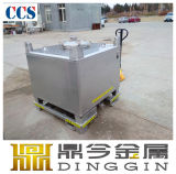 Steel inoxidable Square IBC pour 5.2 Group Dangerous Liquids