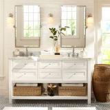 Étage neuf restant le Module de salle de bains de double bassin