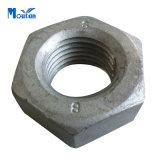 Écrous Hex de l'acier du carbone de H.D.G DIN934
