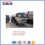 FAW Vakuum-LKW für Absaugung-Abwasser-LKW für Vakuum-LKW des Verkaufs-8cbm
