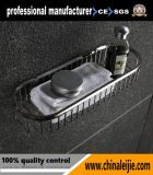 Cestino dell'acquazzone del raso/specchio degli accessori della stanza da bagno
