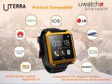 IP68 Podómetro Reloj Bluetooth del teléfono inteligente reloj