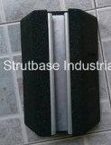 Canaleta de borracha recicl SBR do suporte da base C/W 41X21