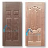 Diseño inusual de Argelia Panel de puerta moldeado de nogal Sapelli HDF