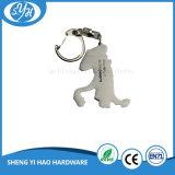 Presente personalizado Keychain da lembrança da impressão do metal 3D do logotipo