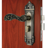 Brass antico Mortise Lockset con Lever Handle