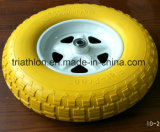 roda livre lisa do Wheelbarrow do relvado 16X4.80/4.00-8