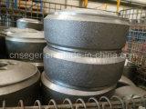 Roheisen-Wagen-Räder/Kanten der Fußrollen-Wheels/Castor Wheels/Wheel
