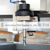 Leer Water Jet Scherpe Machine (CE)