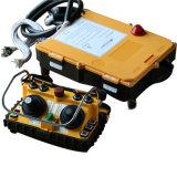 Controlador duplo de Radio Remote do manche do caminhão da bomba concreta da C.C. 12V