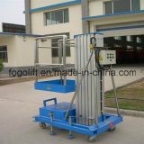 Single-мачты 100 кг Вместимость алюминиевого сплава Лифт