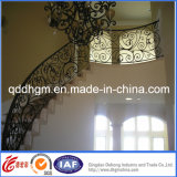 Inferriata della scala del mestiere del ferro delle scala del ferro saldato della fabbrica della Cina
