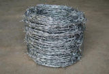 工場価格の電流を通された有刺鉄線