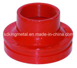 Ductile Iron DIN Threaded Excentric Reducer
