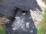 Grauer Farben-Heizfaden Spunbond Nadel-nicht gesponnener verstärkter EntwässerungGeotextile